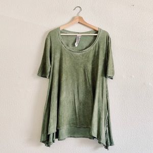 Free People Oversized Split Hem Tunic